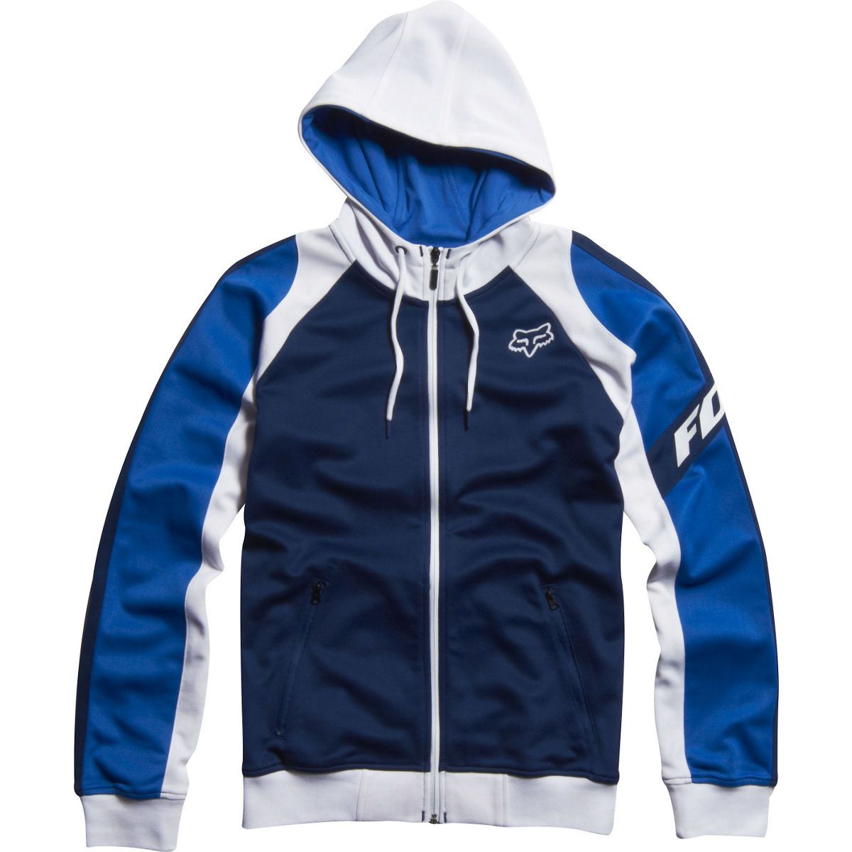 02155-329 Fox Racing LP Track Jacket Blue White