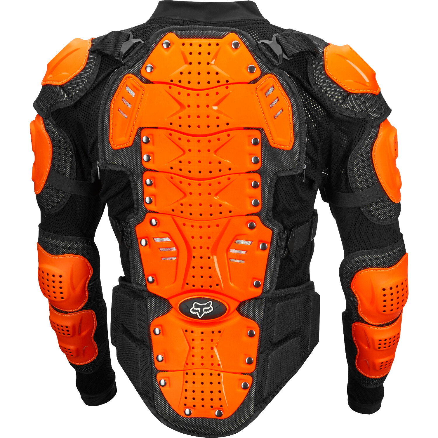 fox titan sport jacket black orange full protection vest Protektorenjacke pare pierre harnas
