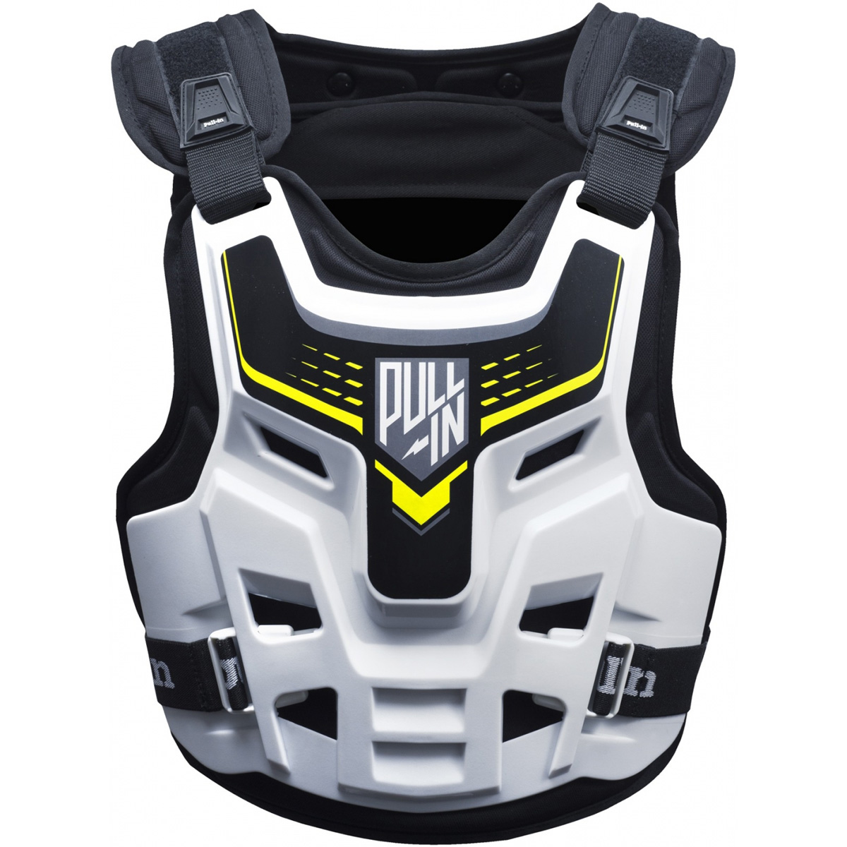 175-1750010 Pull-In Body Protector White Brustpanzer Pare-Pierres de Protection Harnas Bescherming