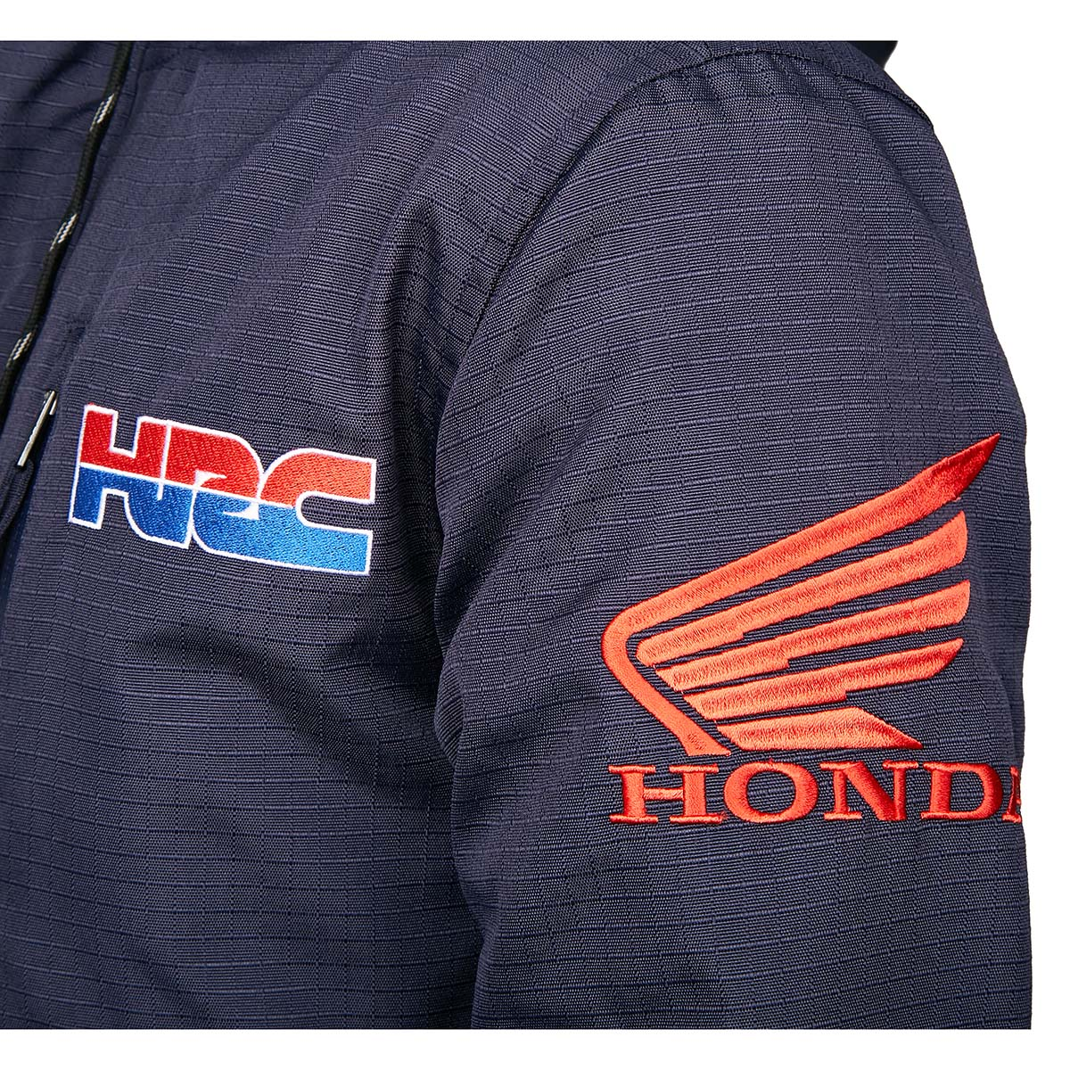 fox racing hrc honda gariboldi roosted jacket navy veste jas jacke
