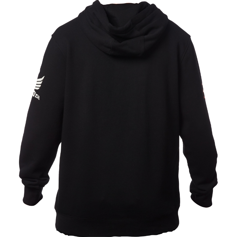 18982-001 Fox Racing Honda Basic Pullover Hoody Black Trui Sweatshirt Vest