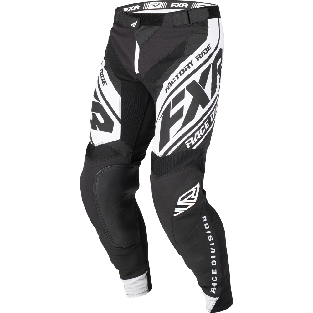 193340-1001 FXR Racing 2019 Revo MX Black White Motocross Pant Enduro Hose Crossbroek Pantalon Off-Road