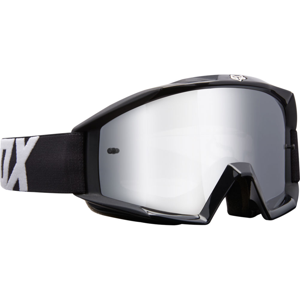 19971-001-NS fox youth kids main race black motocross enduro bmx downhill goggle kinder brille crossbril lunette enfants
