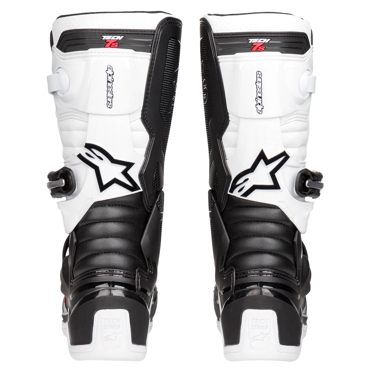 2015017 12 Alpinestars 2020 Youth Tech7S Black White Motocross Boots Kinder Laarzen Stiefel Bottes Enfants
