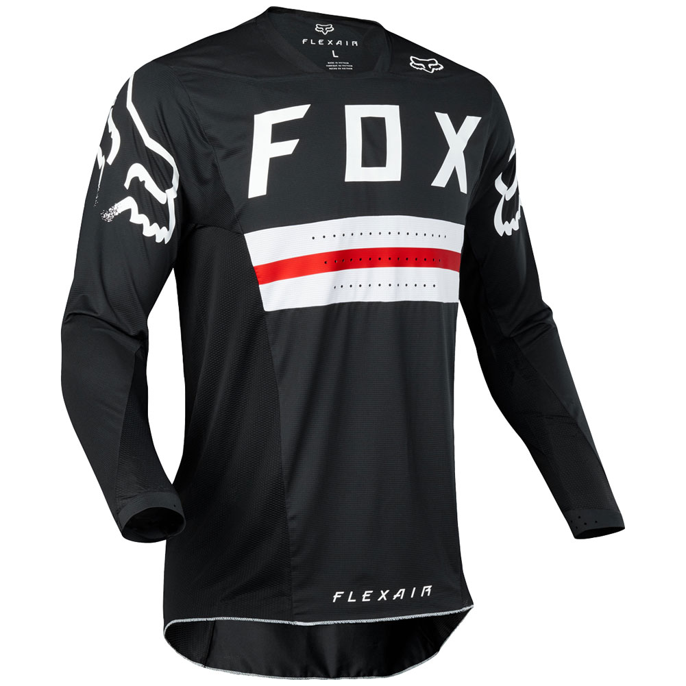 2018 fox racing flexair preest limited edition black red gear kit combo equipement outfit pak kostuum motocross tenue