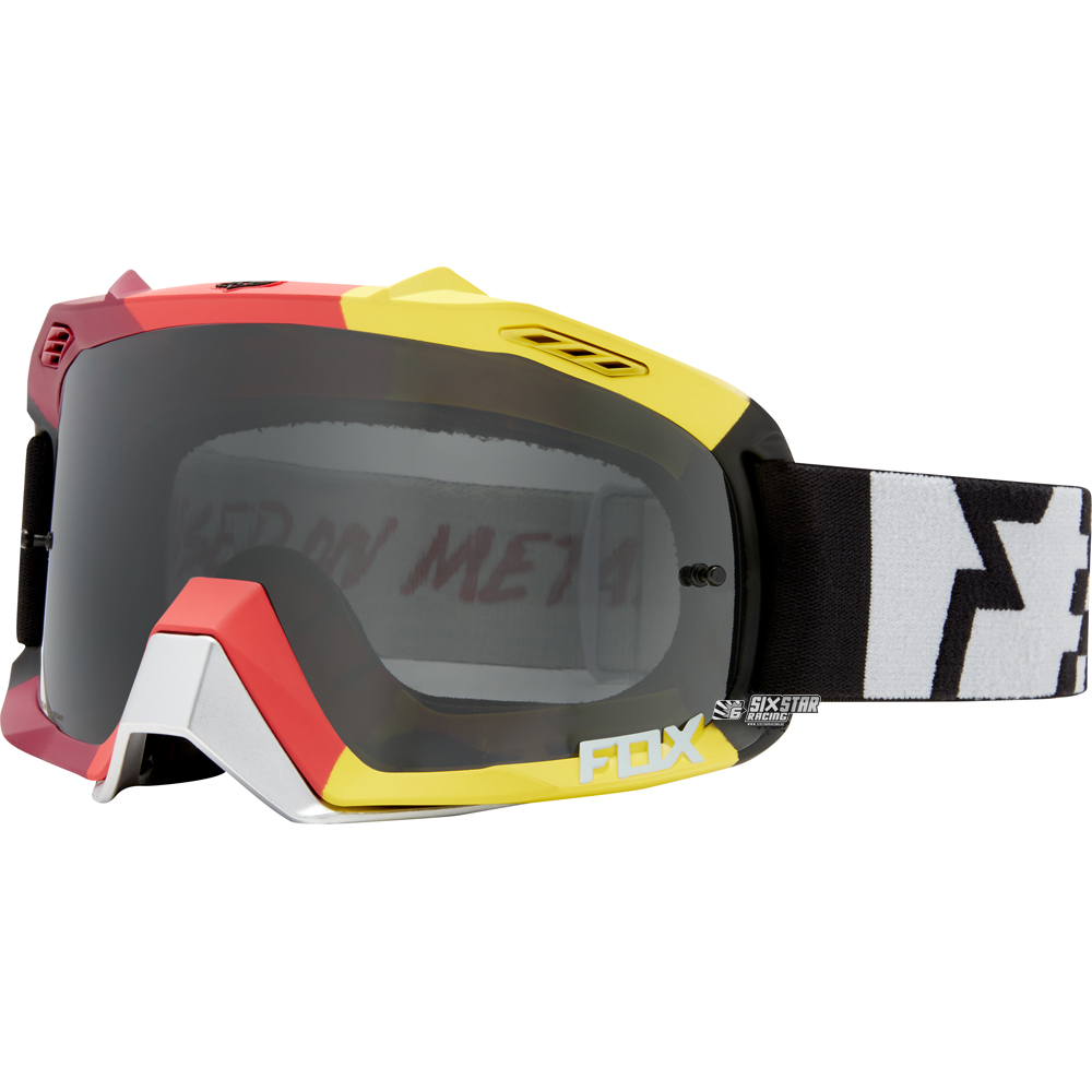 fox air defence limited edition rodka goggle light grey masque bril brille crossbril