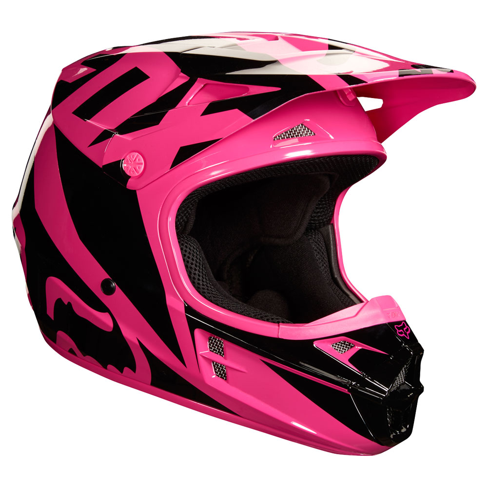 Casque Shoei 2018 >> 2018 Fox Racing V1 Race Helmet Pink | Sixstar Racing