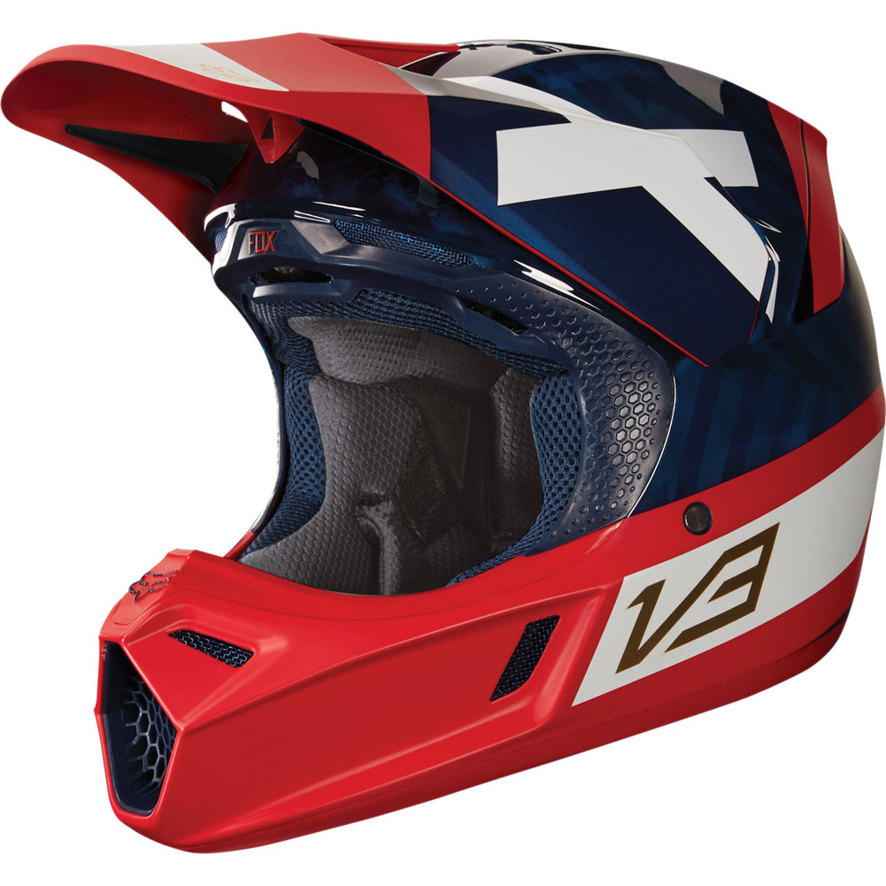 2018 fox v3 preest motocross bmx enduro helmet crosshelm casque helm