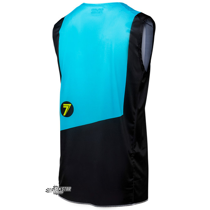 2018 Seven MX Zero flite Over Jersey black blue Débardeur shirt trui