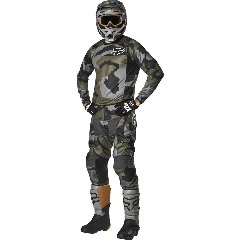 2019 Fox Racing 180 Przm SE Camo Gear Kit Combo Equipement Tenue Motocross Crosskleding