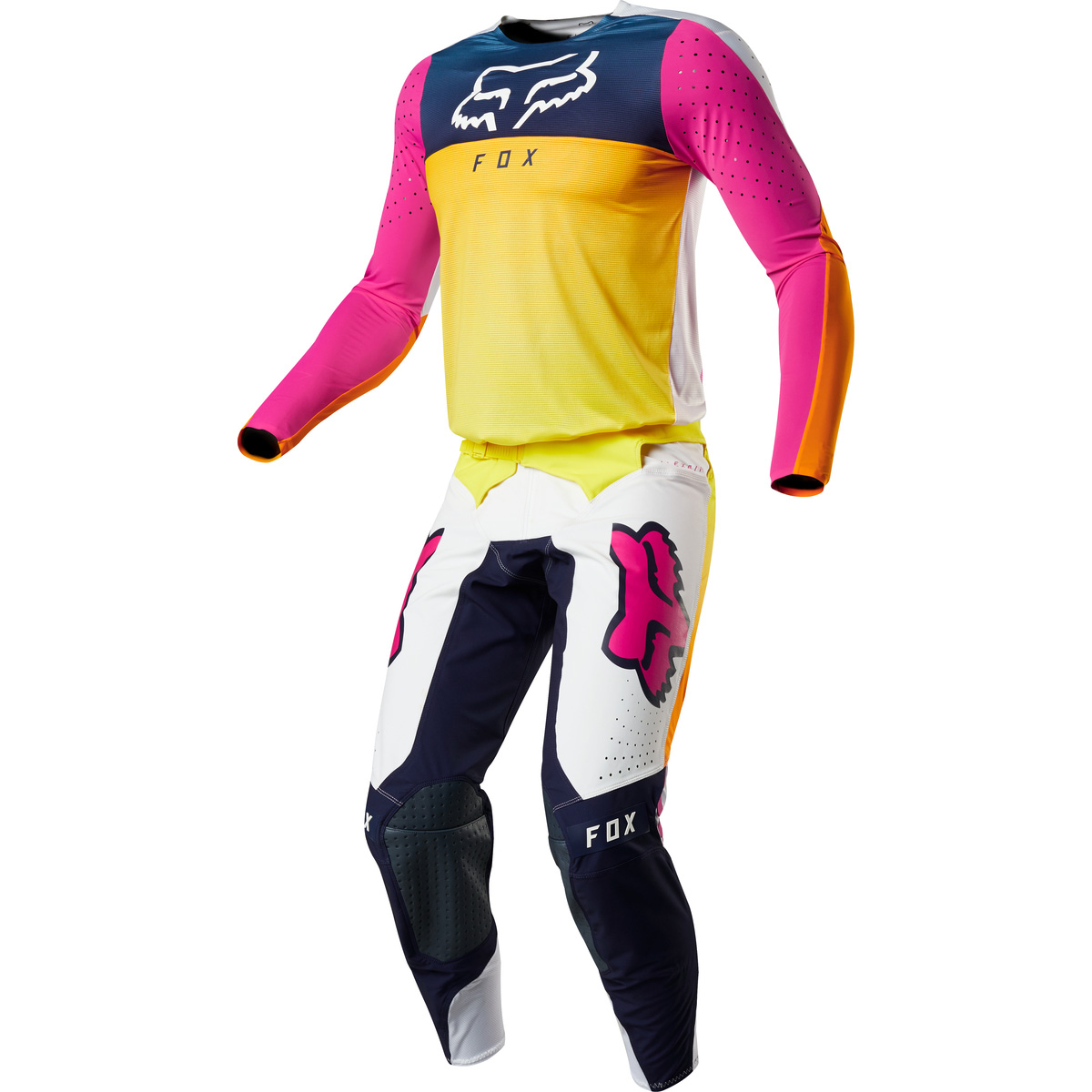 2019 Fox Racing Flexair Idol Limited Edition Anaheim 1 Gear Kit Combo equipement outfit pak kostuum motocross tenue