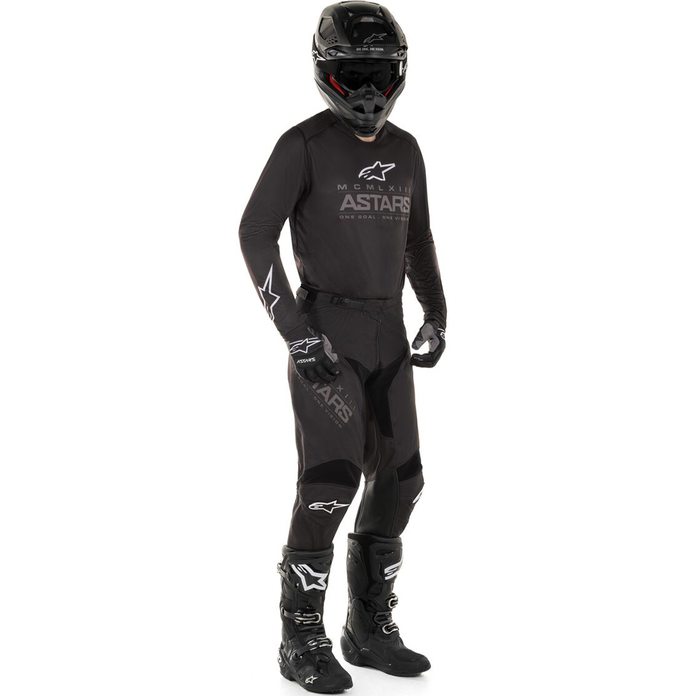 NEW ALPINESTARS 2020 RACER GRAPHITE KIT BLACK//GREY MX MOTOCROSS MTB BMX