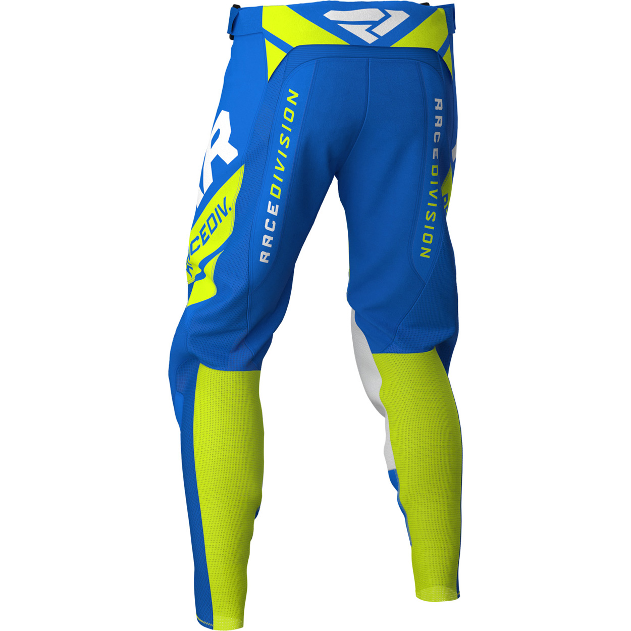 203340-4065 FXR RACING 2020 Revo Motocross Pant Blue Hi-Vis Yellow White Pantalon Enduro Hose Cross Broek