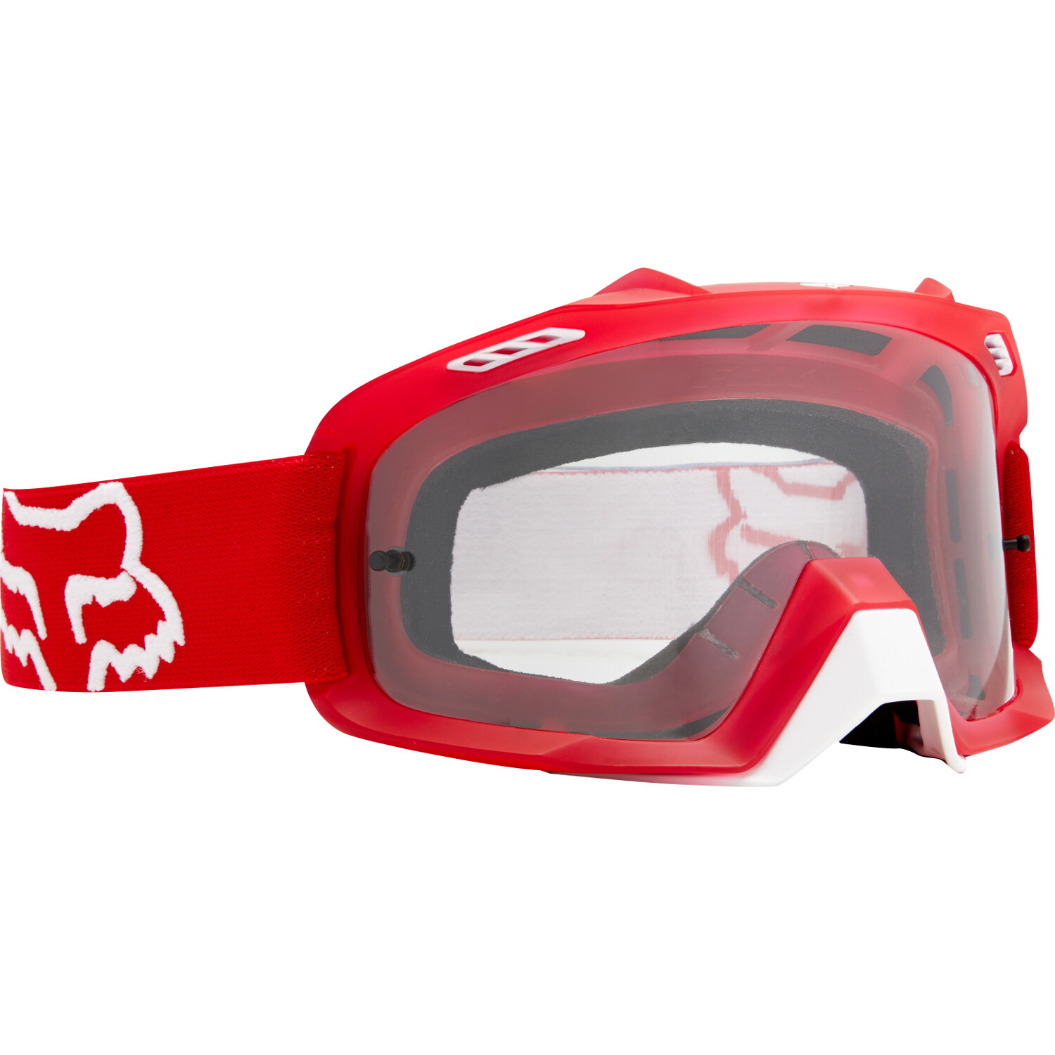 20576-003-OS Fox Racing Air Space Red Motocross Enduro Off-Road Goggle Masque Brille Crossbril
