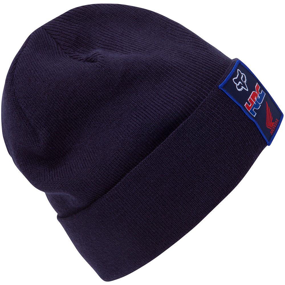Fox Racing Pit HRC Honda roll Beanie navy bonnet muts