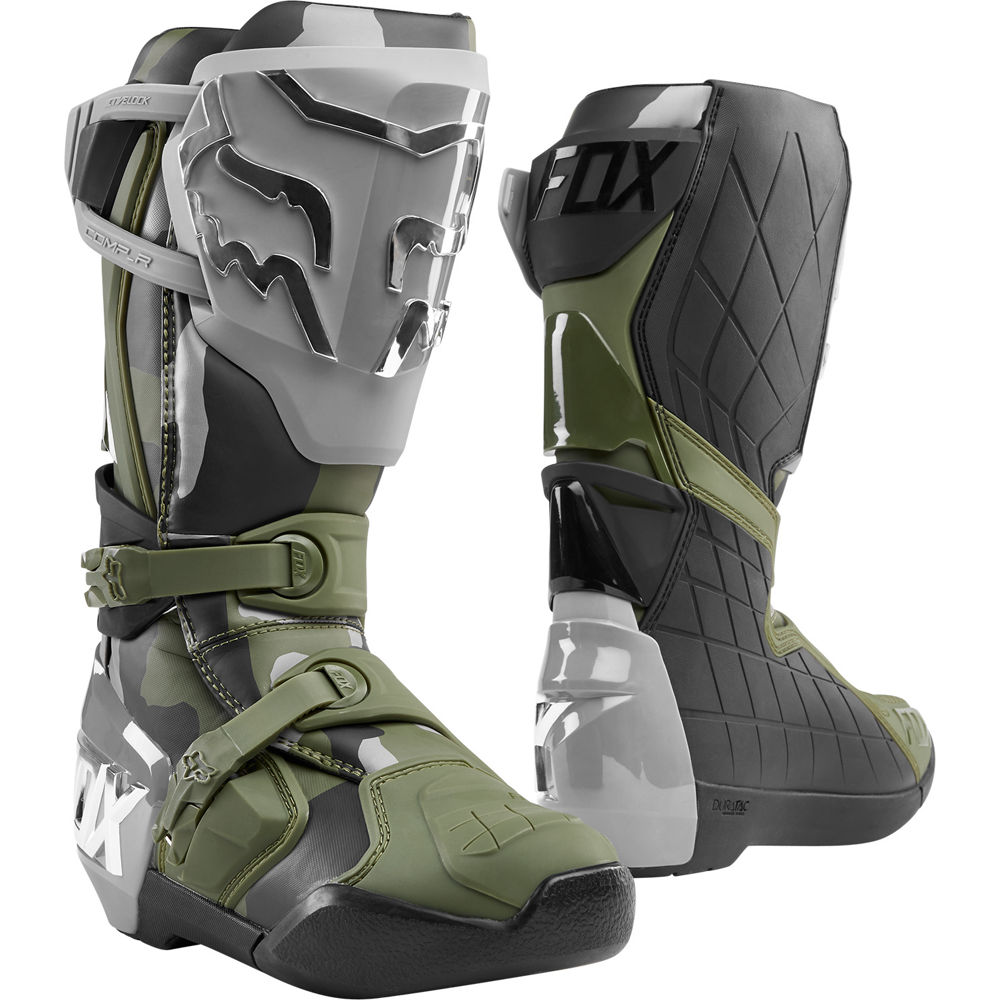 24011-027 2020 Fox Racing Comp R Off-Road Boots Camo Motocross Enduro Laarzen Stiefel Bottes