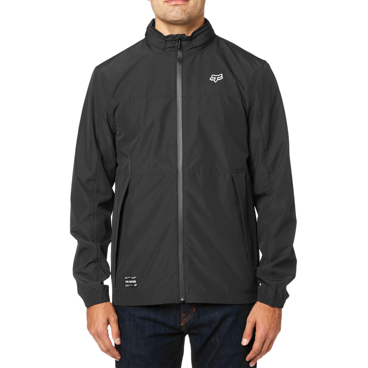 24087-001 Fox Racing Cascade Waterproof Jacket Black Waterdichte Regenjas Regenjacke Veste de Pluie