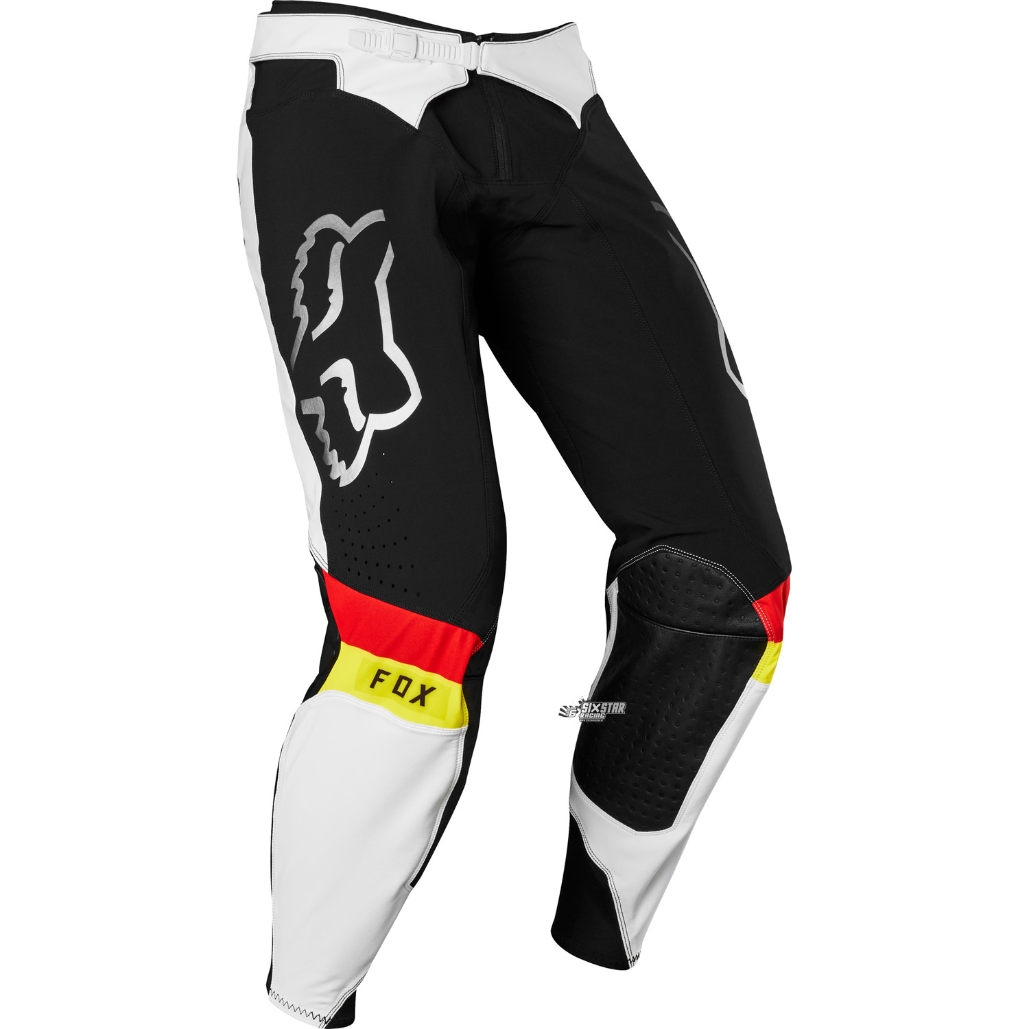 2019 Fox Racing Flexair MXON Limited Edition Black White Gear Kit Combo equipement outfit pak kostuum motocross tenue