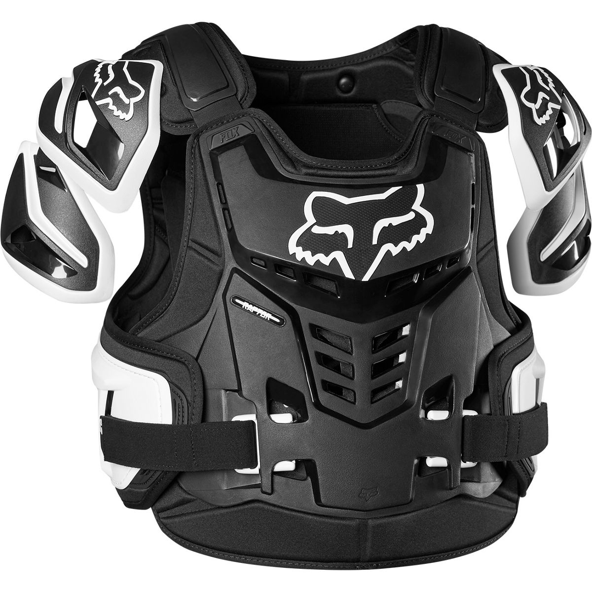 24818-018 Fox Racing Raptor Protection Vest Black White Brustpanzer Pare-Pierres de Protection Harnas Bescherming