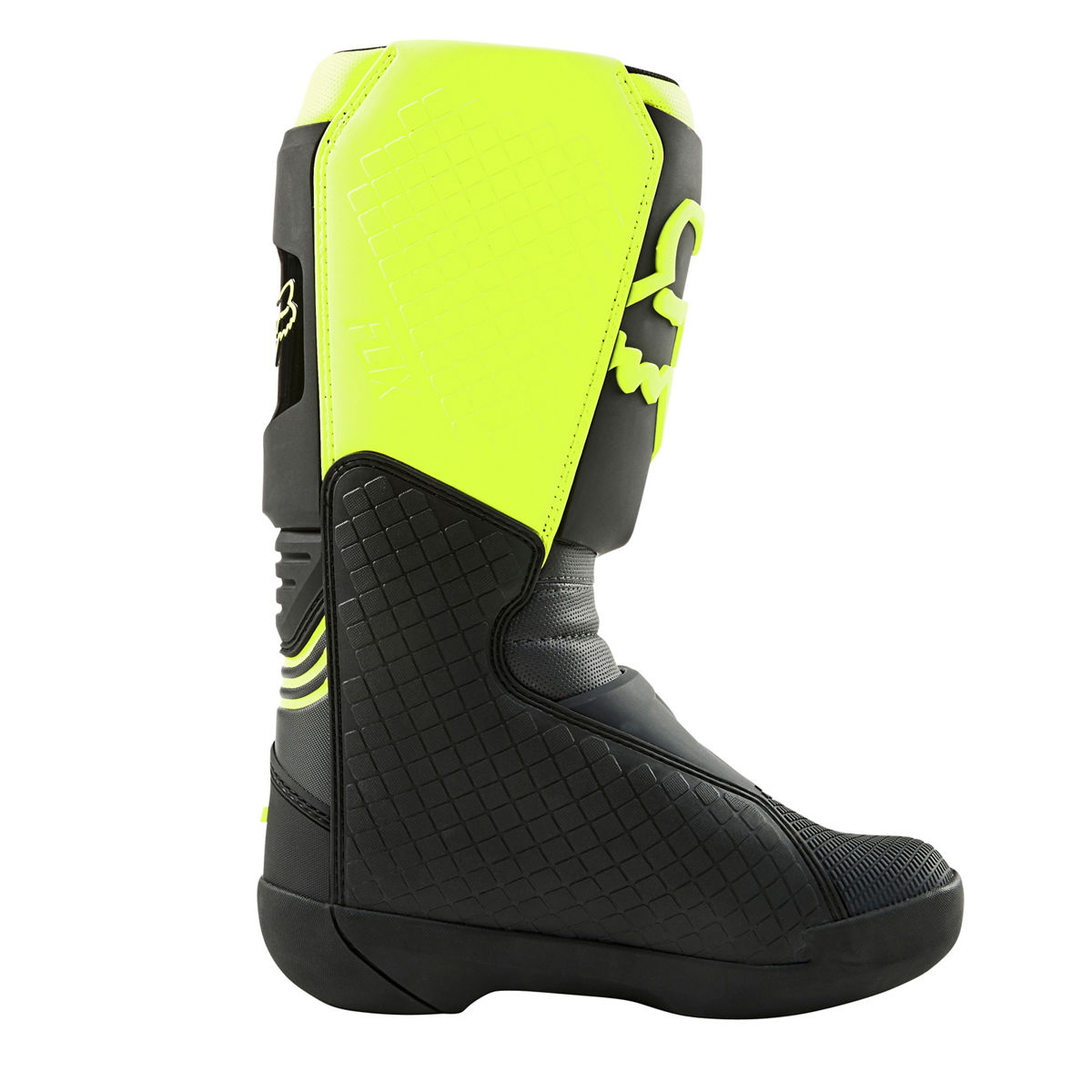 25839-019 2021 Fox Racing Comp Boots Black Yellow Motocross Enduro Laarzen Stiefel Bottes