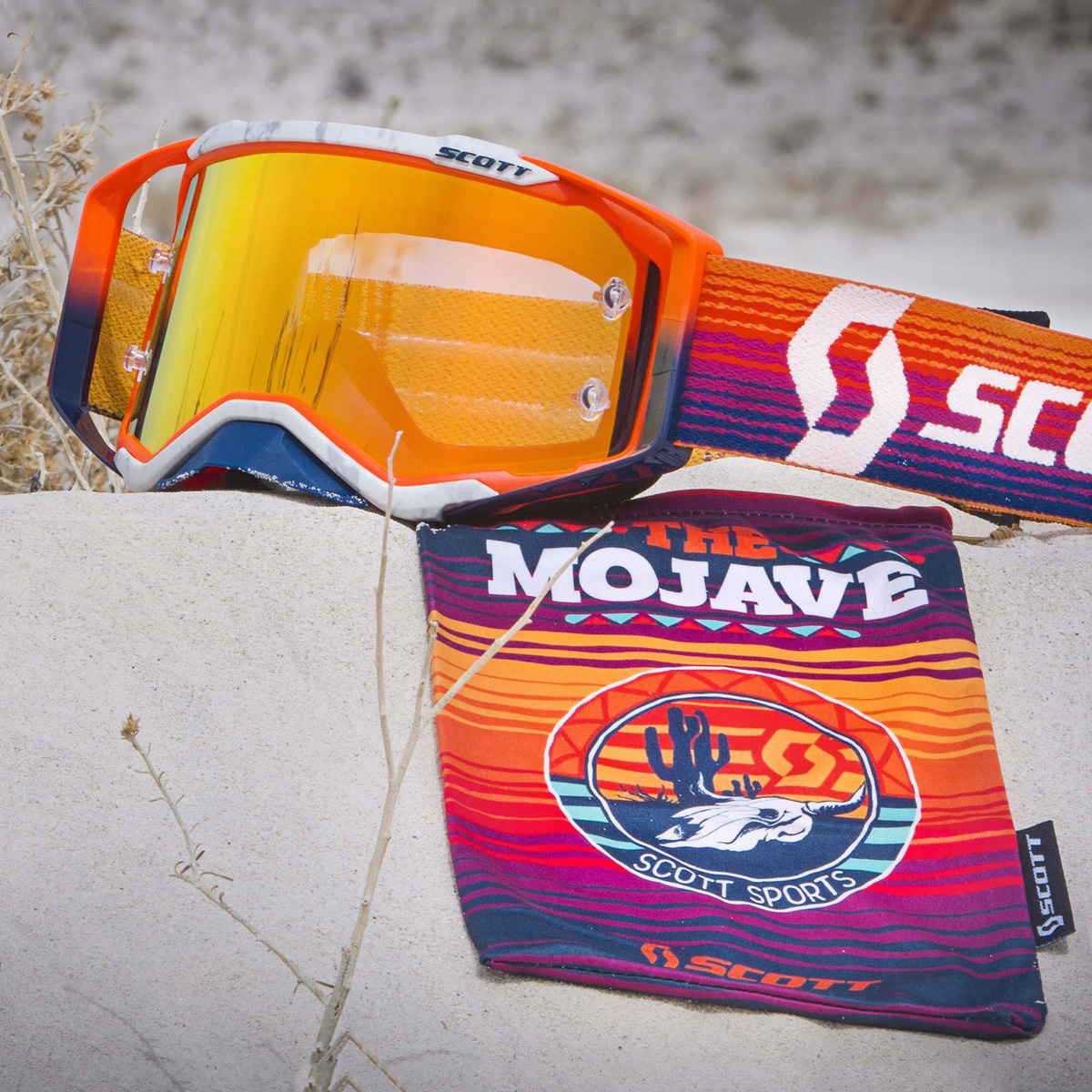 268887-1415280 Scott 2019 Prospect Mojave Special Edition Orange Motocross Enduro bmx downhill Goggle  brille crossbril lunette