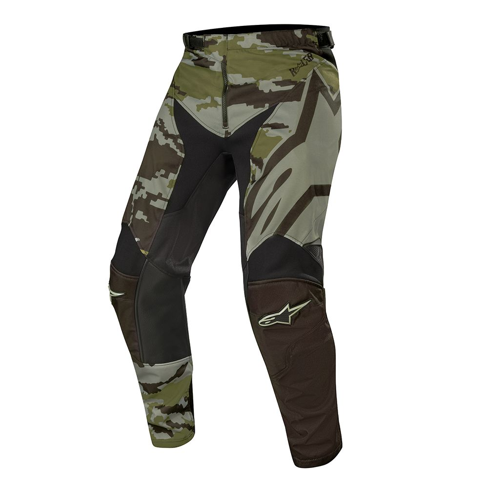 3721219 9006 Alpinestars 2019 Racer Tactical Pant Black Green Camo Pantalon Cross Broek Hose