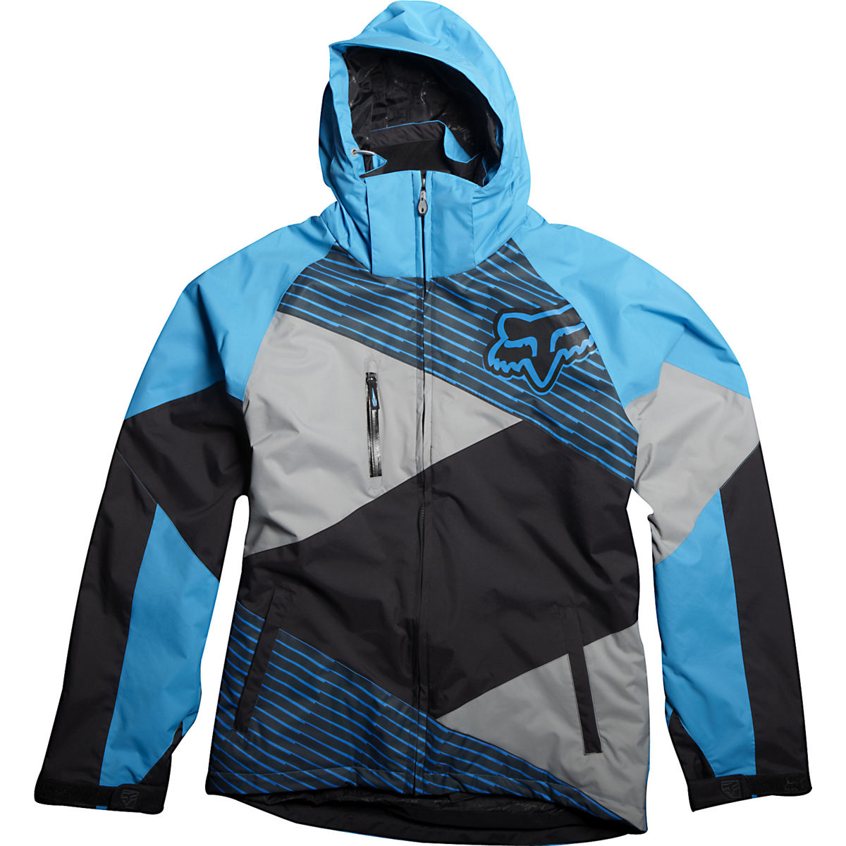 46055-582 Fox Racing FX2 Men's Winter Jacket Blue Black Waterdichte regenjas Jacke Veste