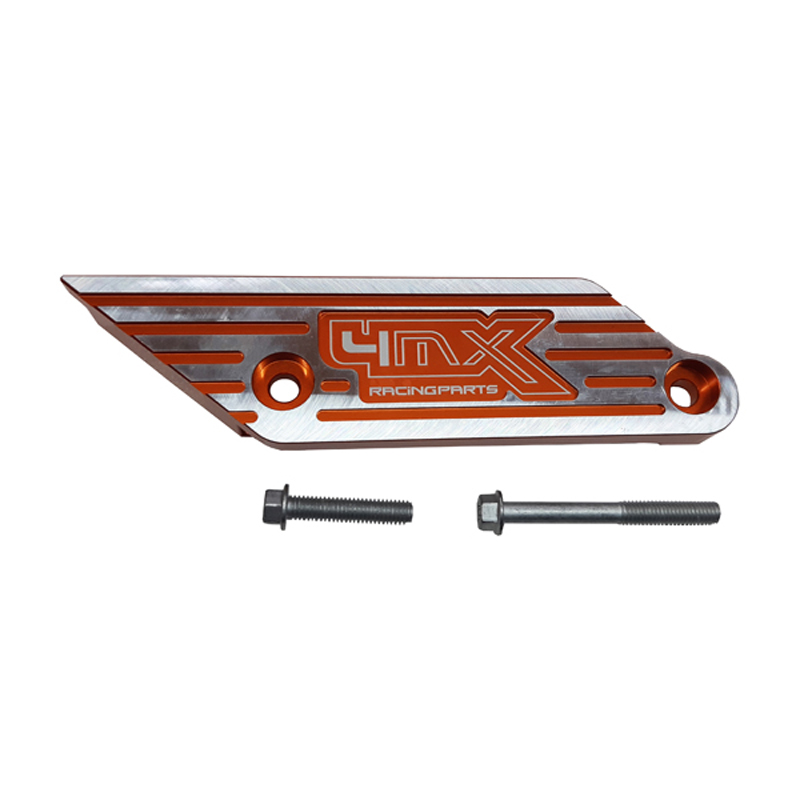 4MX Racing Chain Guide Protector Orange KTM  SX125 SX150 SX250 SX-F250 SX-F350 SX-F450  XC125 XC150 EXC250 EXC300 EXC-F250 EXC-F350 EXC-F450 EXCF500