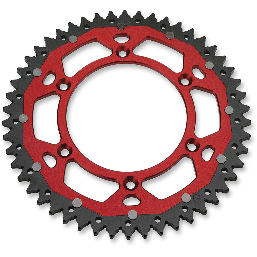 4MX Racing Dual Steel Rear Sprocket Beta RR125 RR250 RR300 RR350 RR390 RR430 RR480 Kettenrad Stahl Couronne Bi-Metal staal aluminium achtertandwiel
