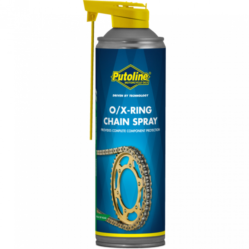 70289 Putoline O/X-Ring Motorcycle Chain Spray 500ml Kettingspray Lubrifiant Chaîne Kettenspray