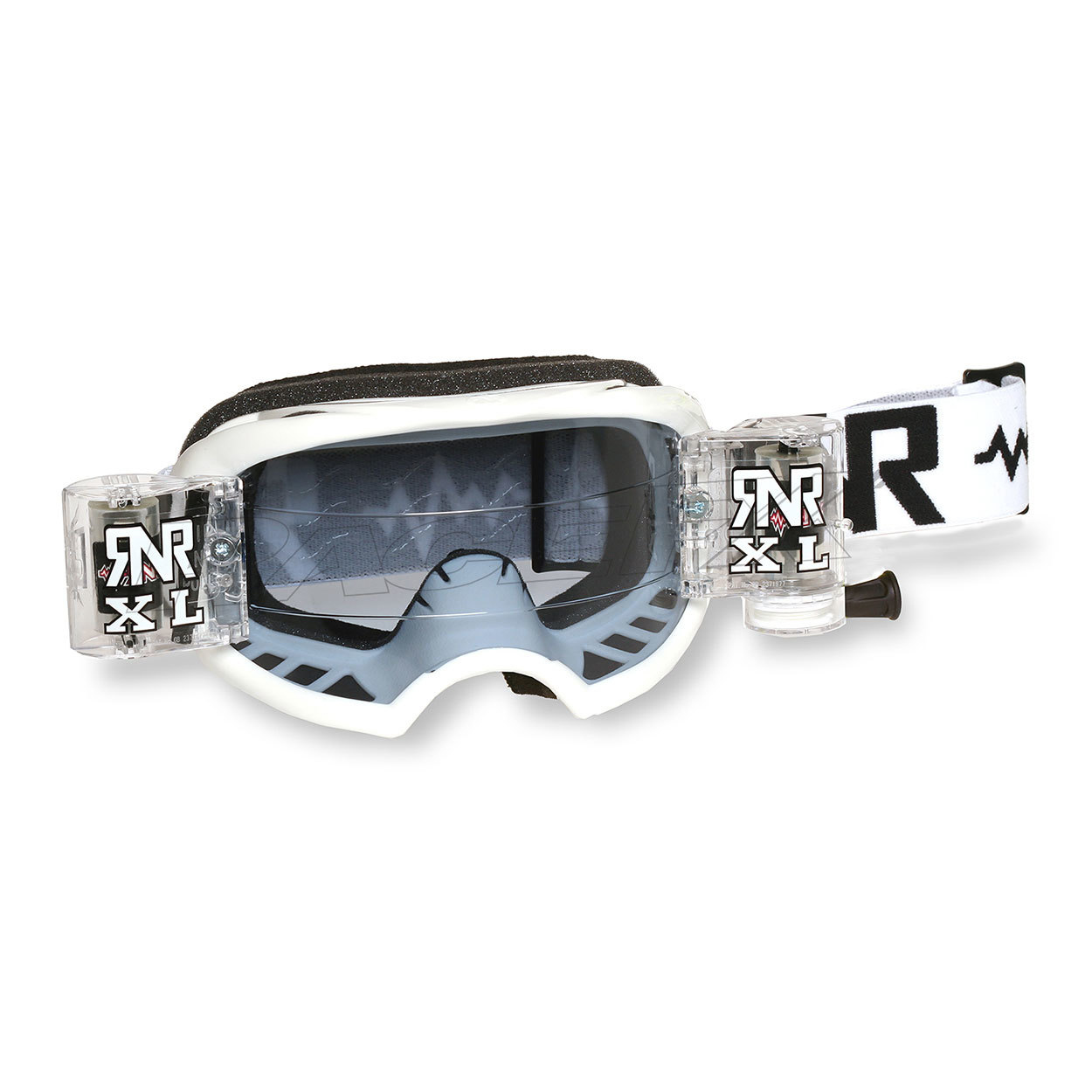 rip n roll rnr colossus XL roll off goggle white masque crossbril brille