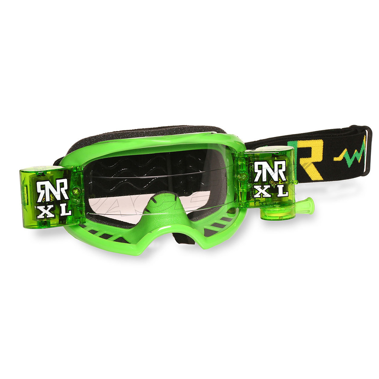 rip n roll rnr colossus XL roll off goggle green masque crossbril brille