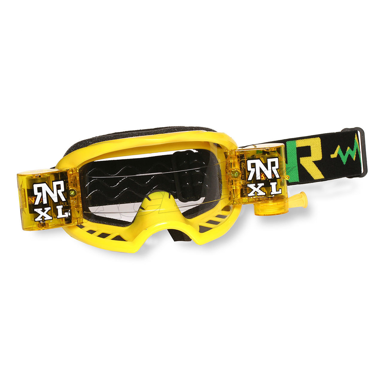 rip n roll rnr colossus XL roll off goggle Yellow masque crossbril brille