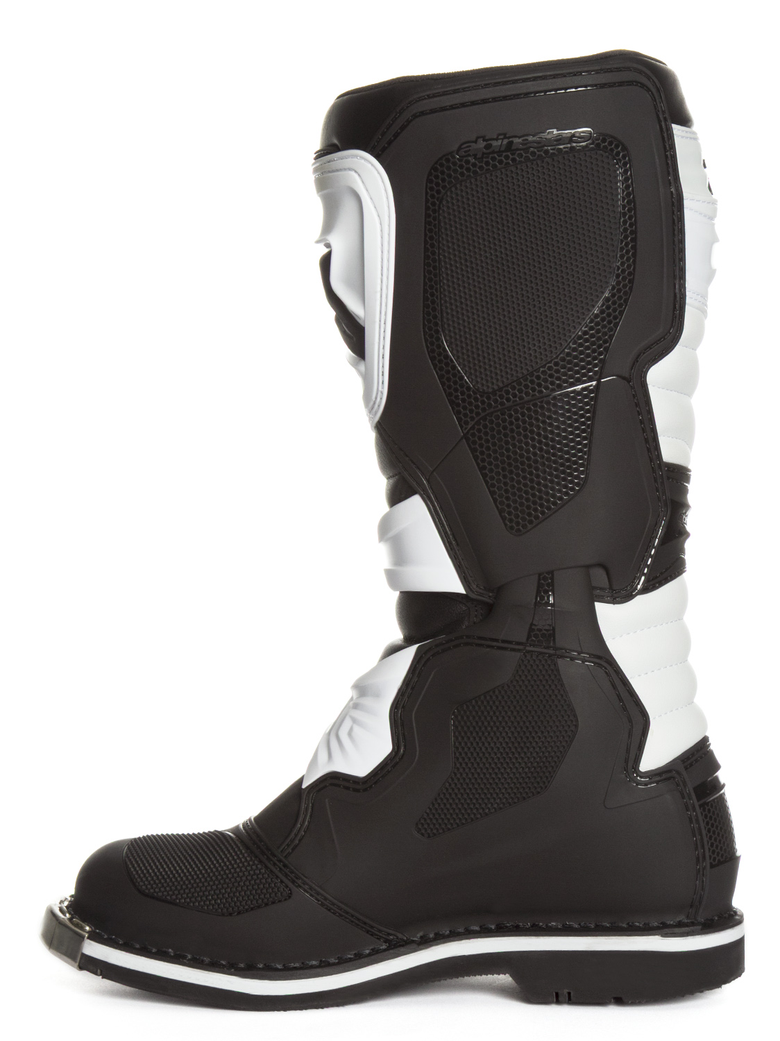 alpinestars tech 1 boots black white sixstar racing. Black Bedroom Furniture Sets. Home Design Ideas