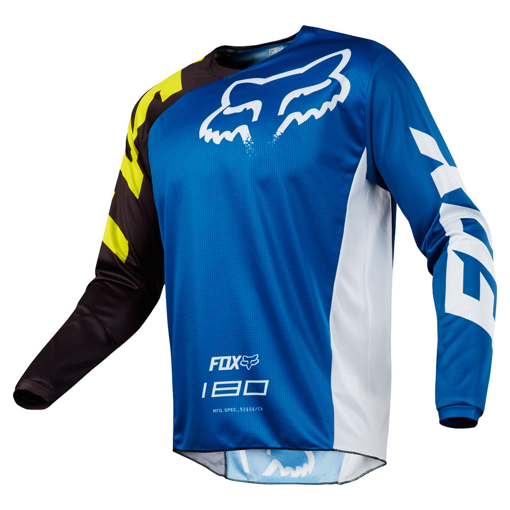 Fox Racing Youth 180 Race Jersey Blue