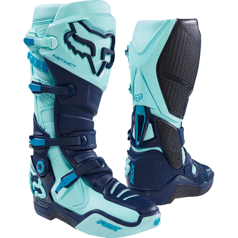 rivenditore all'ingrosso 9d635 22044 Fox Racing Instinct Seca LE Boots Ice Blue | Sixstar Racing