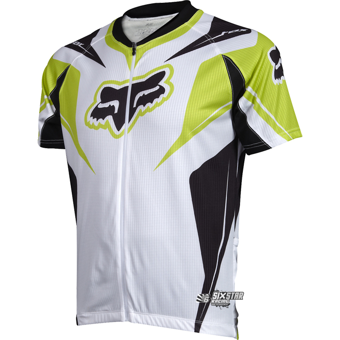 fox cycling race jersey green xl veste de vtt fox racing fietskleding mtb ebay. Black Bedroom Furniture Sets. Home Design Ideas