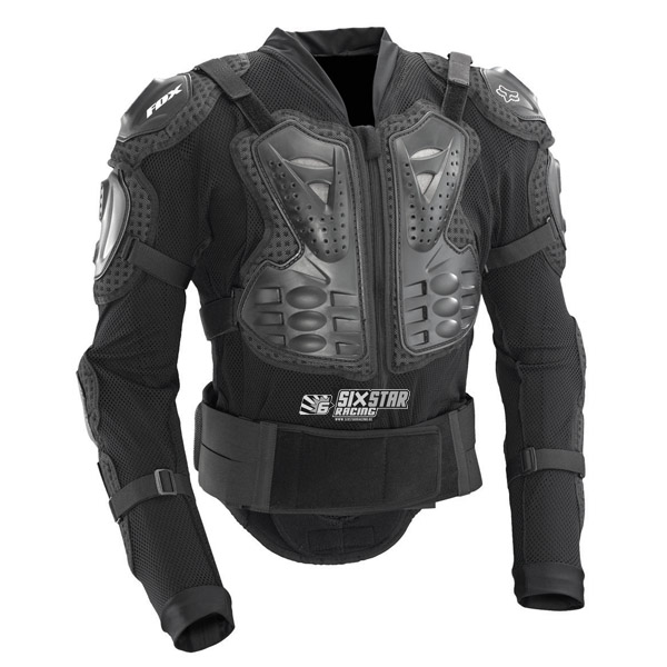 fox titan sport jacket body protector xl pare pierre motocross downhill ebay. Black Bedroom Furniture Sets. Home Design Ideas
