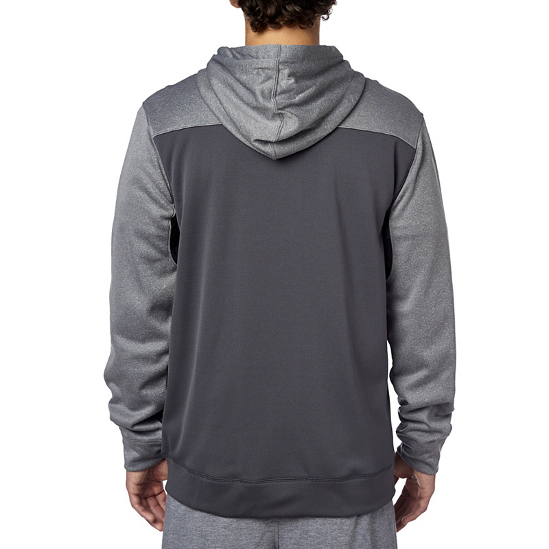 Fox Racing Tearoff Charcoal Zip Hoodie Sweatshirt Hoody