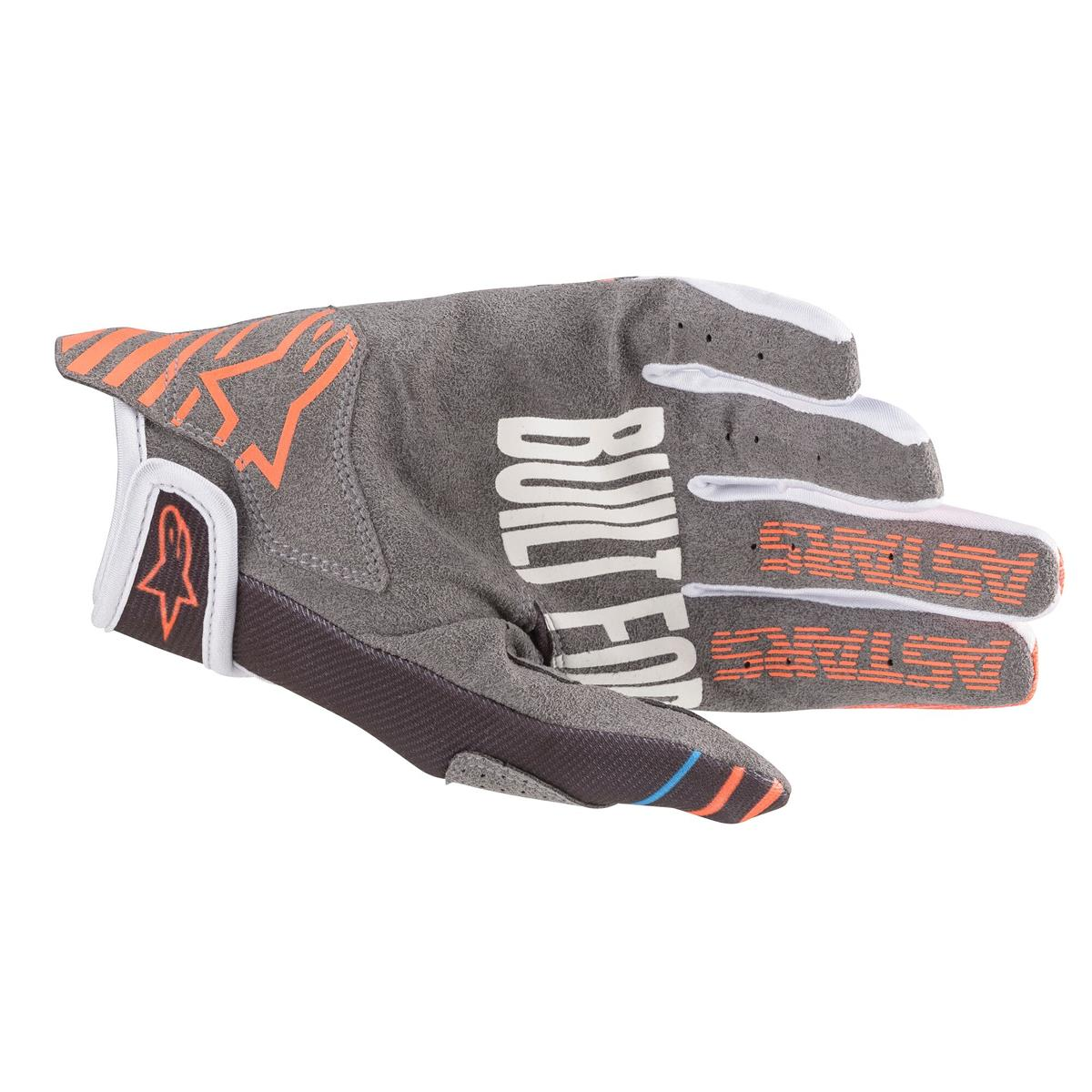 3561820 1444 2020 Alpinestars Radar Gloves Anthracite Orange Fluo Enduro Motocross Handschoenen Gants Handschuhe