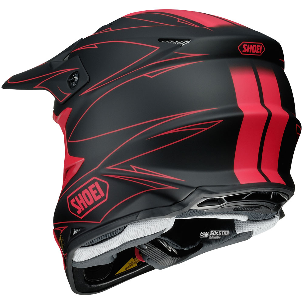 shoei vfx-w hectic tc-1 helmet casque helm motocross enduro off-road