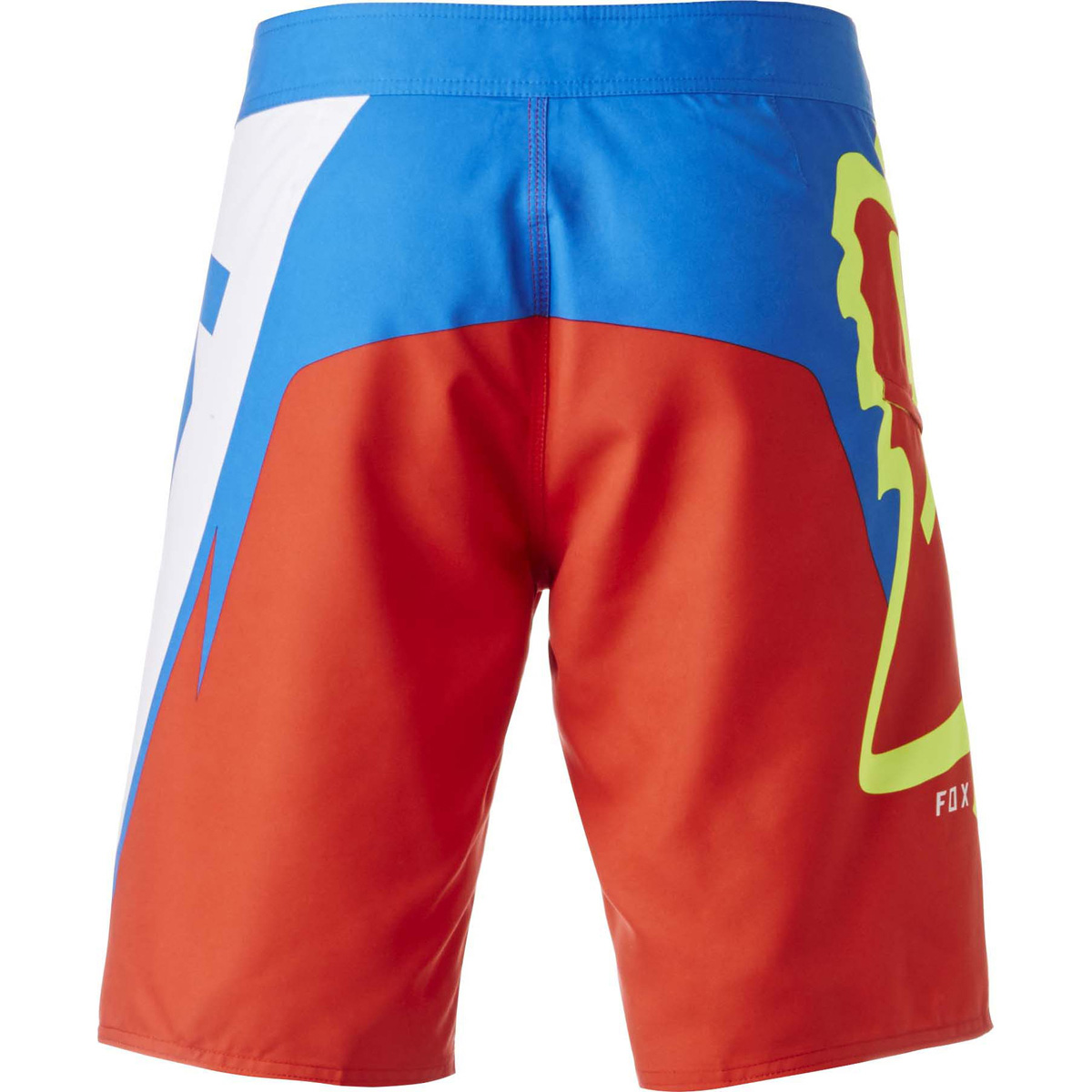 fox motion creo boardshort flame red korte broek short zwemshort