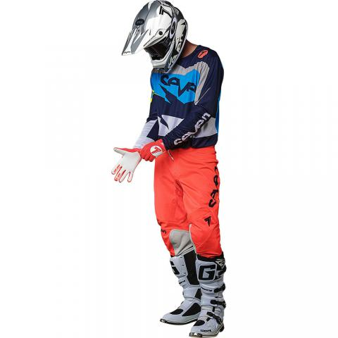 2018 Seven MX annex ignite gear kit coral navy tenue motocross equipement combo kleding