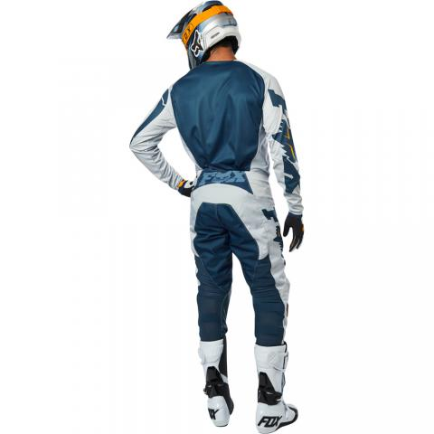 2019 Fox Racing 180 Cota Gear Kit Combo Grey Navy Equipement Motocross Crosskleding Tenue Enduro