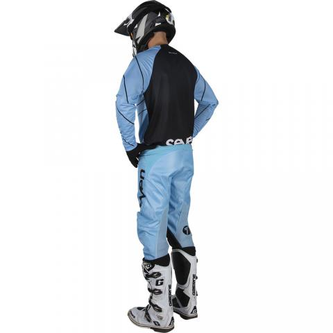 2019 Seven MX Annex Exo Gear Kit Combo Blue Motocross Equipement Tenue Bleu Crosskleding