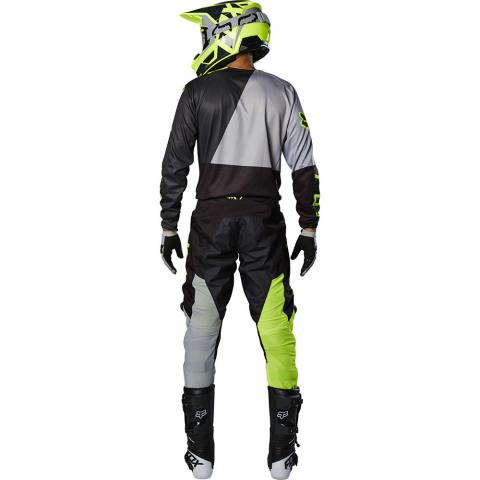 2020 Fox Racing 180 Lovl Gear Kit Black Yellow Motocross Kleding Set Equipement Tenue Combo