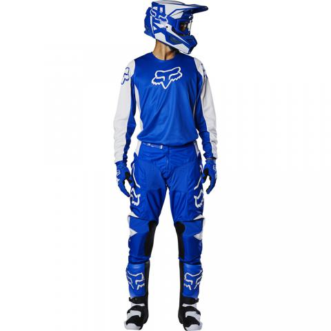 2020 Fox Racing 180 Prix Gear Kit Combo Blue Motocross Equipement Tenue Bleu Crosskleding Blauw