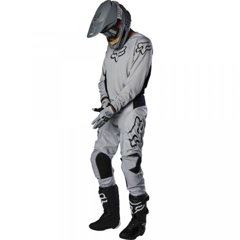 2020 Fox Racing 180 Prix Gear Kit Combo Grey Motocross Equipement Tenue Gris Crosskleding Grijs
