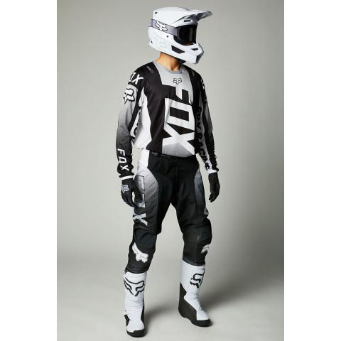2021 Fox Racing 180 Oktiv Gear Kit Combo Black White Motocross Equipement Maillot Pantalon Hose Jersey Tenue Crosskleding Broek Trui
