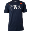 fox dark moon premium tee heather midnight t-shirt shirt blue blau